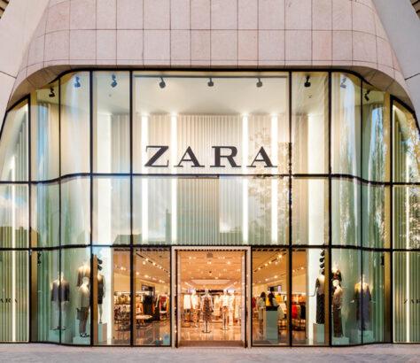Zara store front