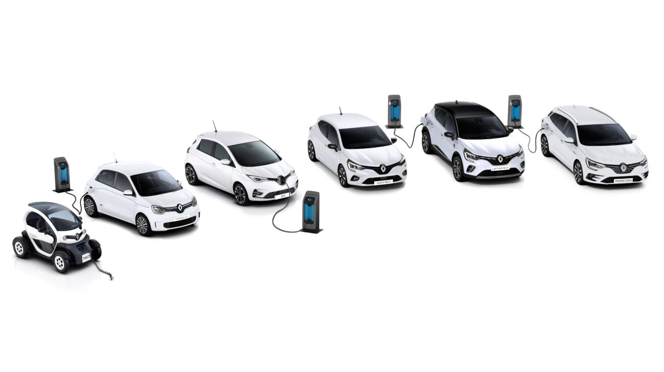 Renault electric car range