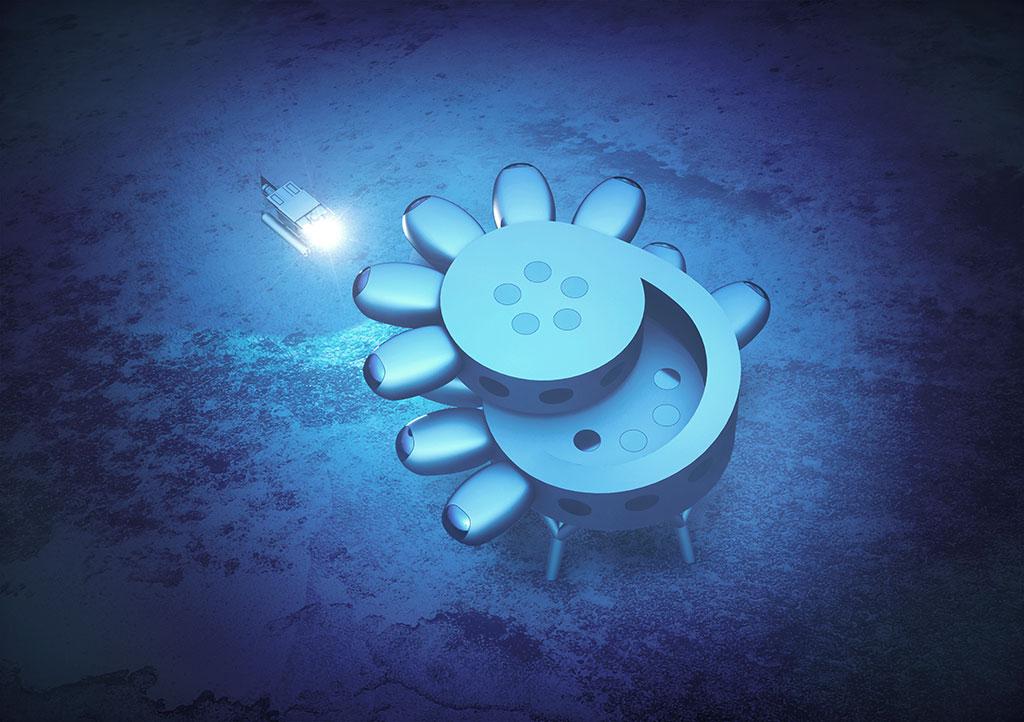 Fabien Cousteau's Proteus. Concept designs by Yves Béhar and fuseproject.
