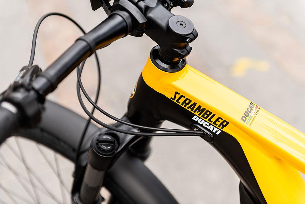 Ducati e-Scrambler detailing
