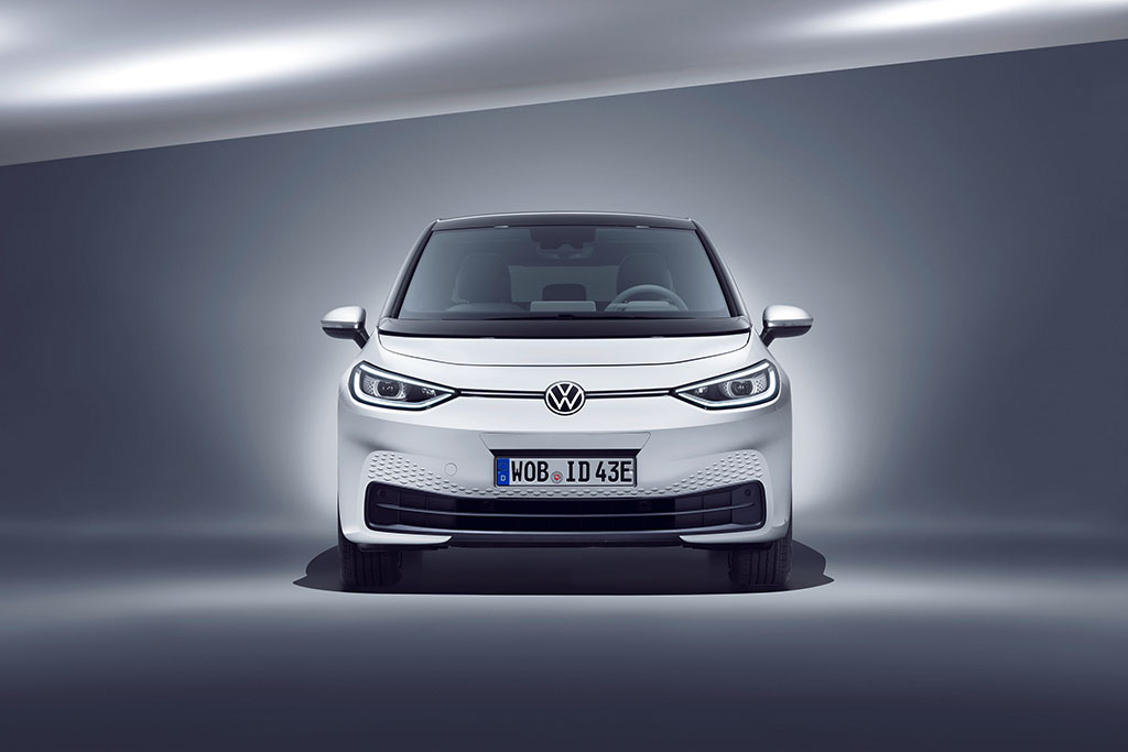 VW ID.3 front profile