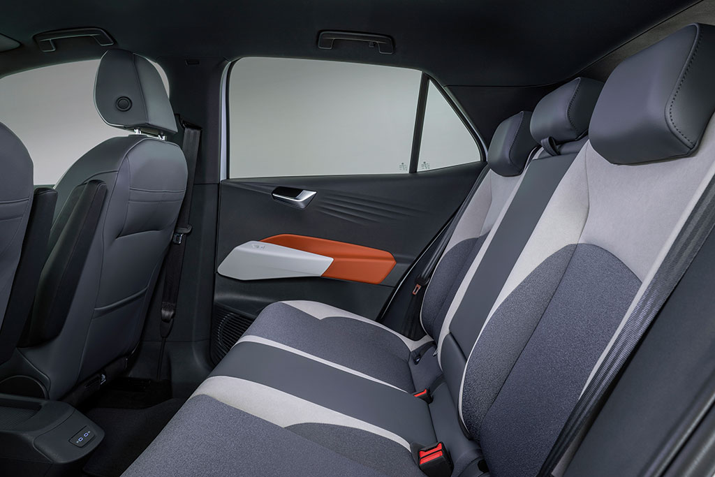 VW ID.3 Interior Rear Seats