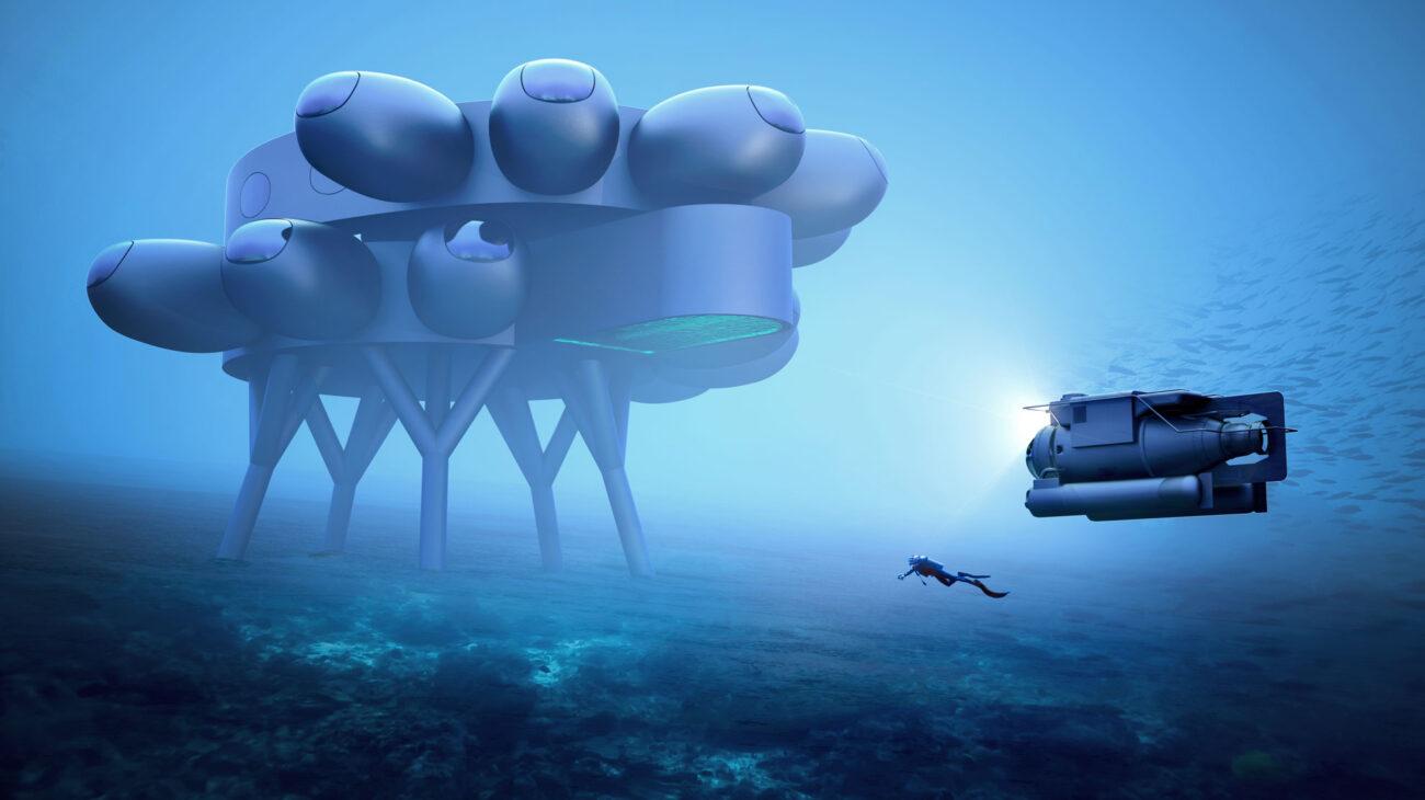 Fabien Cousteau's PROTEUS™. Concept designs by Yves Béhar and fuseproject.