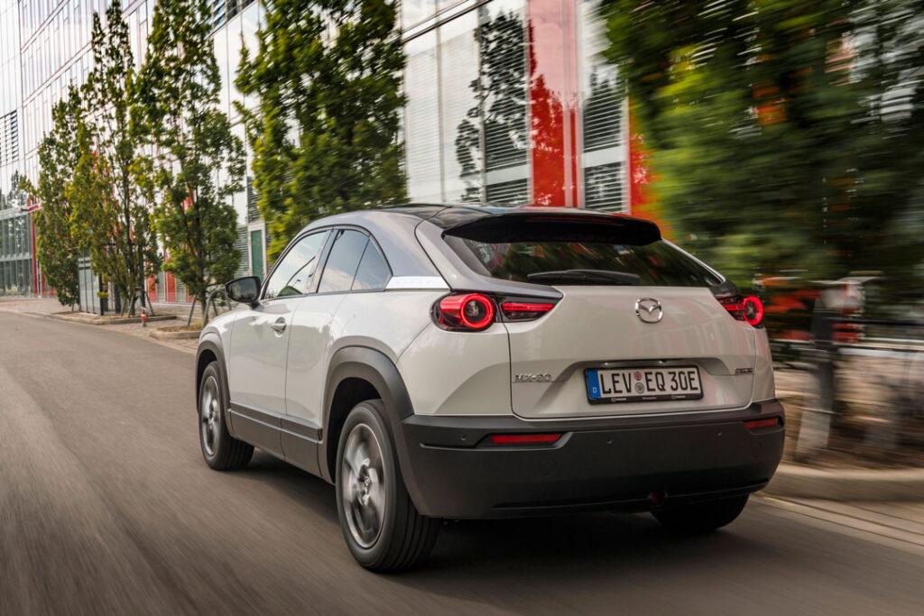 Mazda MX-30 rear view