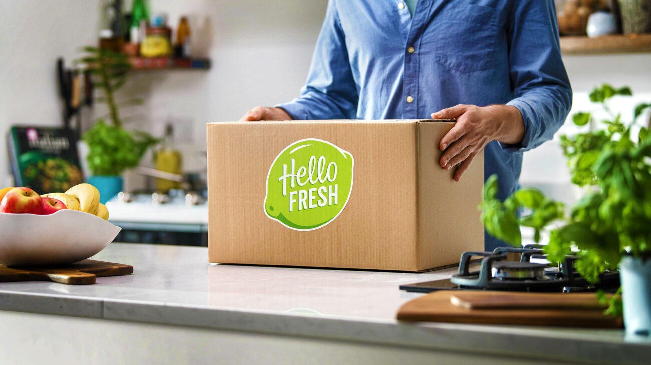 Hellofresh box delivery