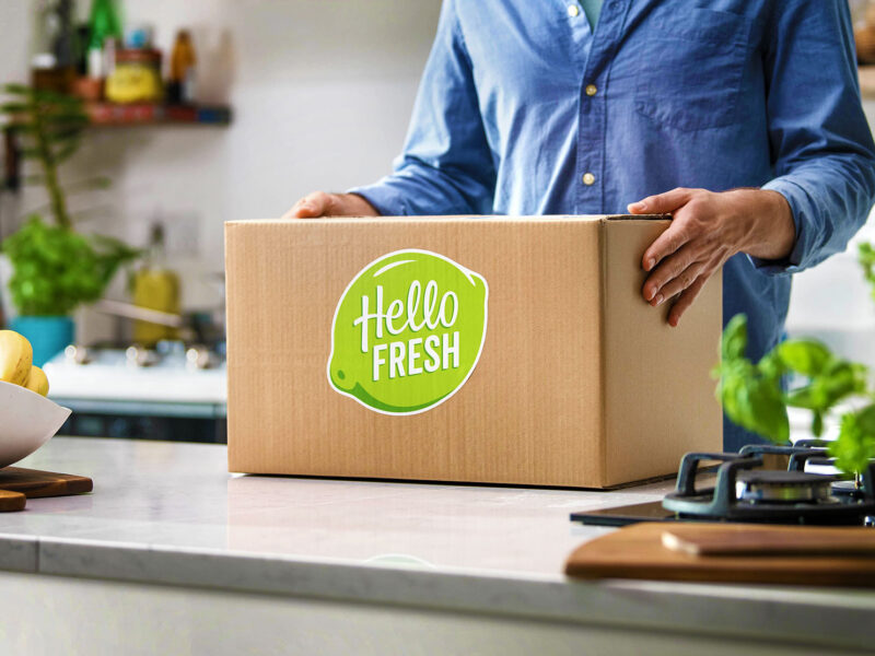 Hellofresh box delivery