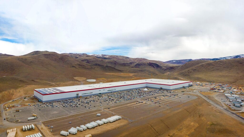 Teslas Gigafactory in Nevada