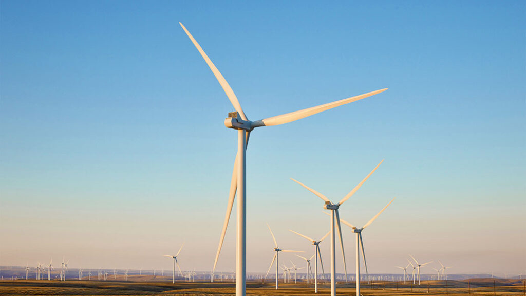 Montague wind farm in Oregon