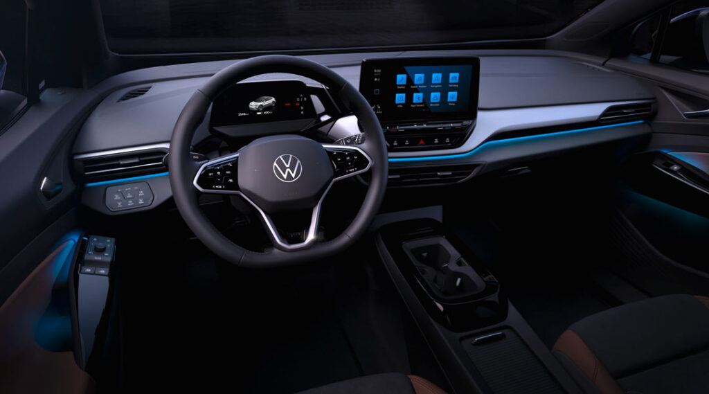 Close up of the drivers side of the all new VW ID.4