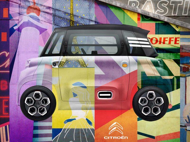 Citroen Ami's Paris inspired design