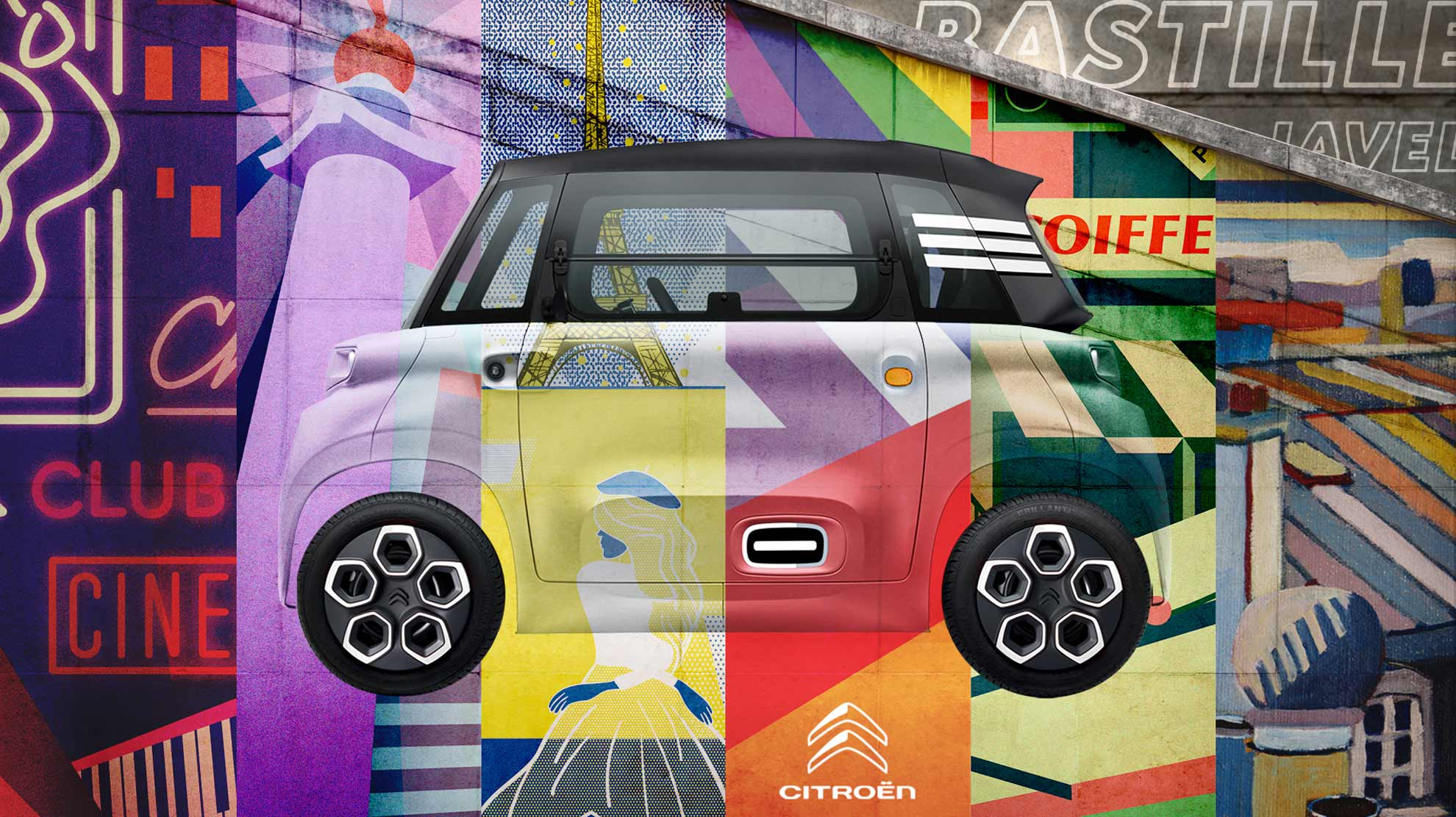 Citroën's Ami launches sharing scheme with Paris-inspired designs