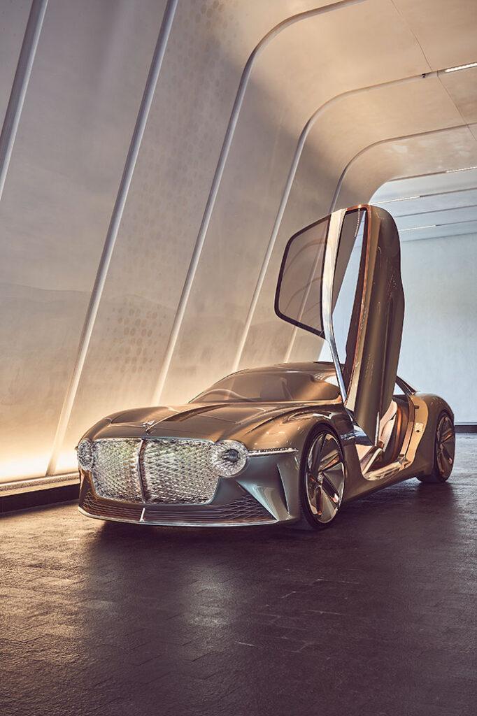 Volta Bentley EXP 100 GT Concept Car Front
