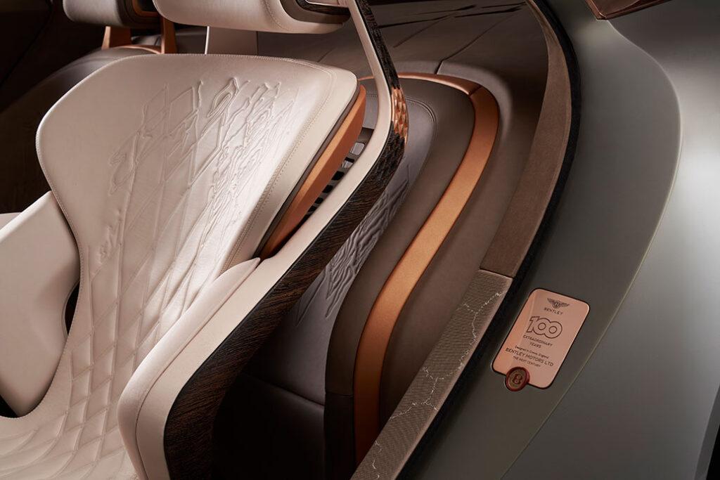 Volta Bentley EXP 100 GT Concept Car Seat