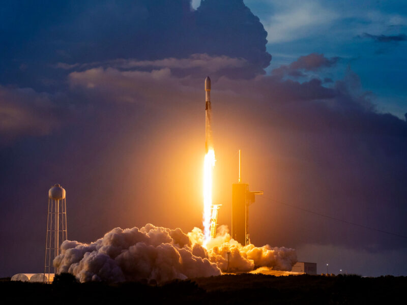 Space X Starlink Mission launch