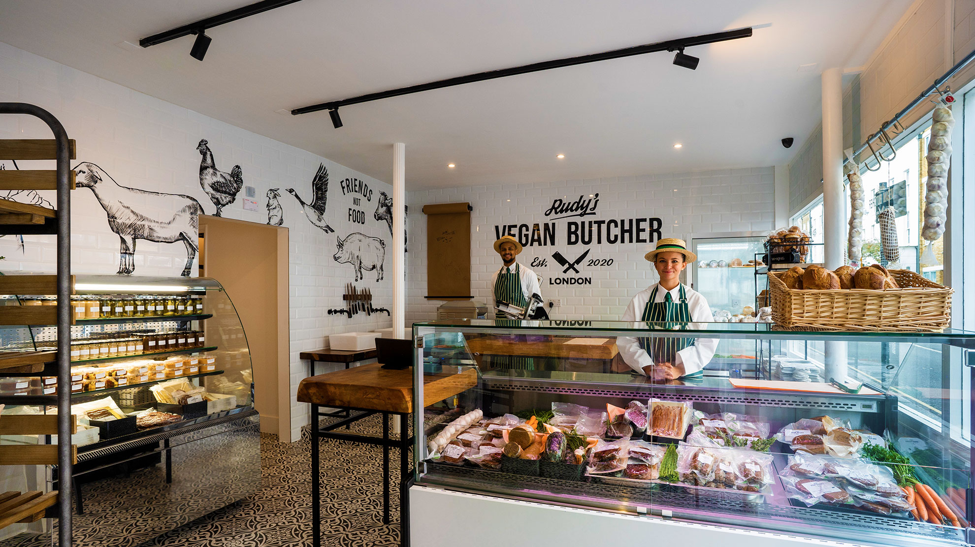 Vegan butcher turns food world on its head