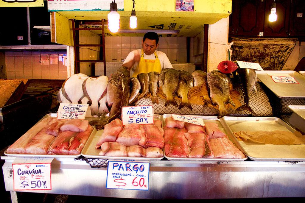 Volta Ensenada Stall FishMongers