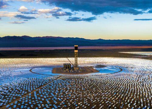 Majove Solar Panel Facility