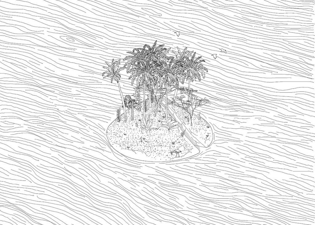 Volta Sweep Island Drawing