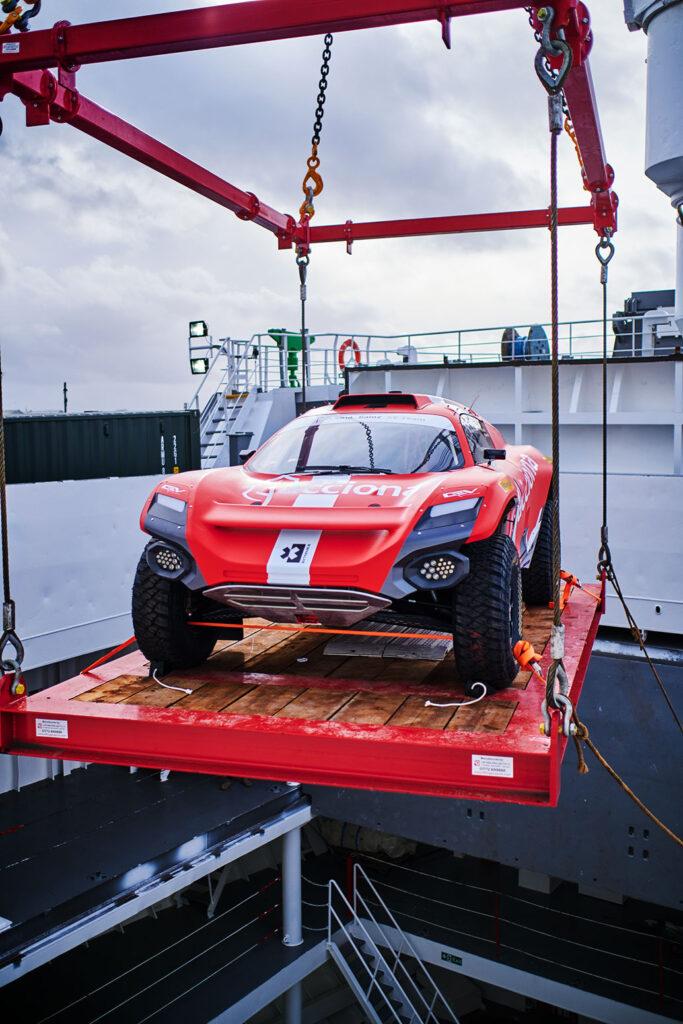 Volta Sainz XE Teams ODYSSEY 21