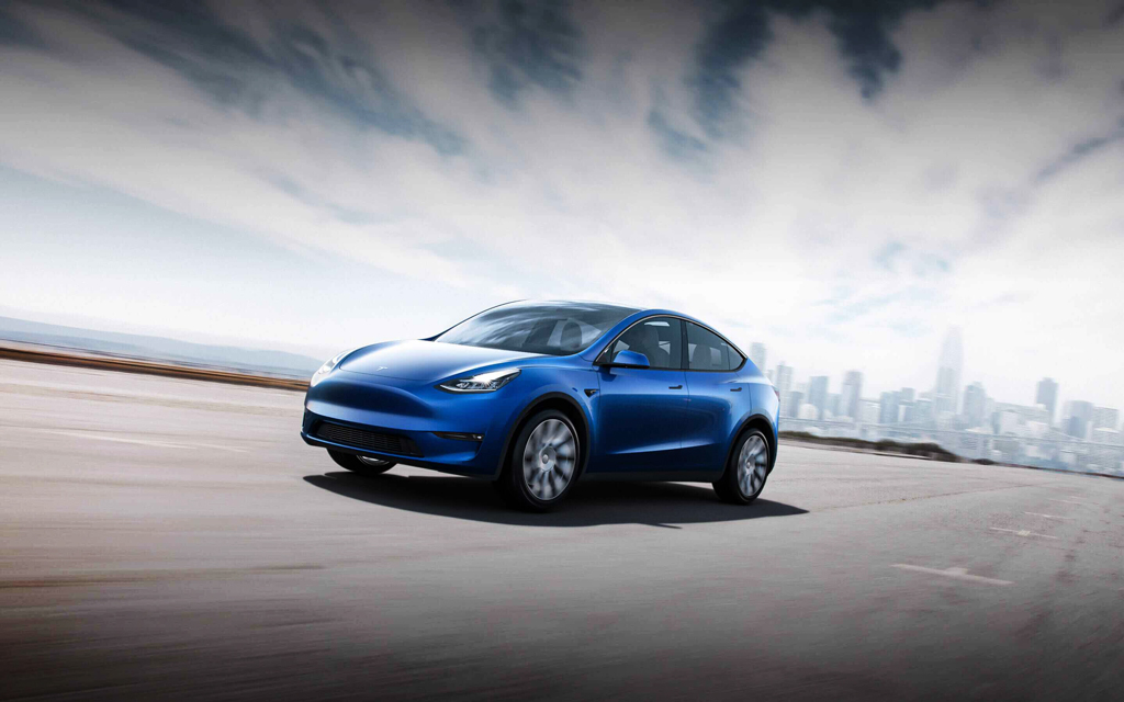 Model Y is an all-electric, mid-size SUV. The Model Y starts at $34,190 in the US for the Standard Range version, and will also come in Long Range, Dual-Motor and Performance variants.