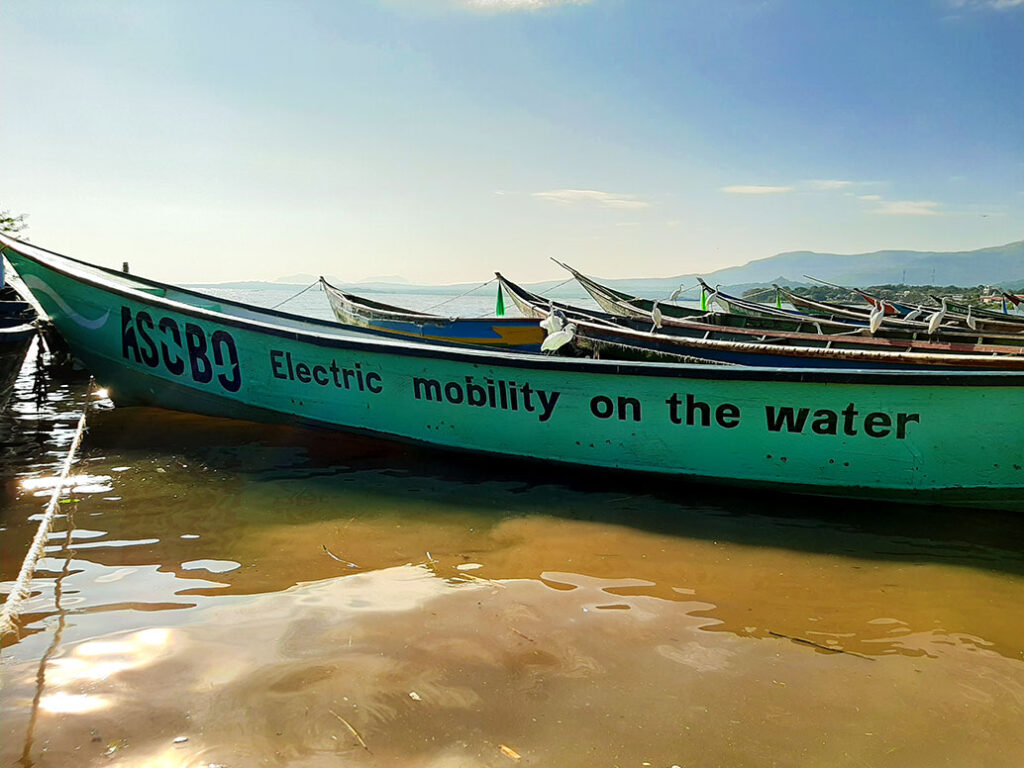 ASOBO Electric Mobility on the water
