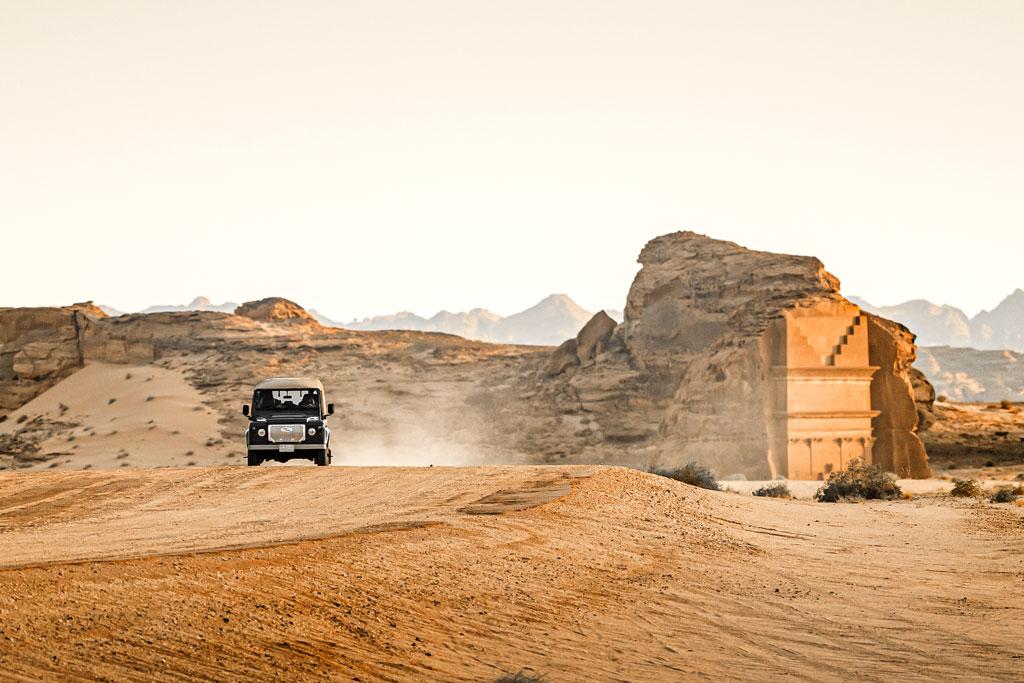 Saudi Arabia Recce, Hegra.  Photo by Ameen Qaisaran