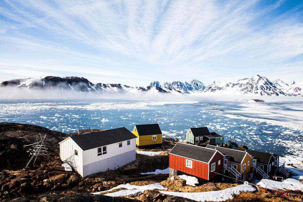 Kulusuk Village, East Greenland.  Photo by Jonas Tufvesson