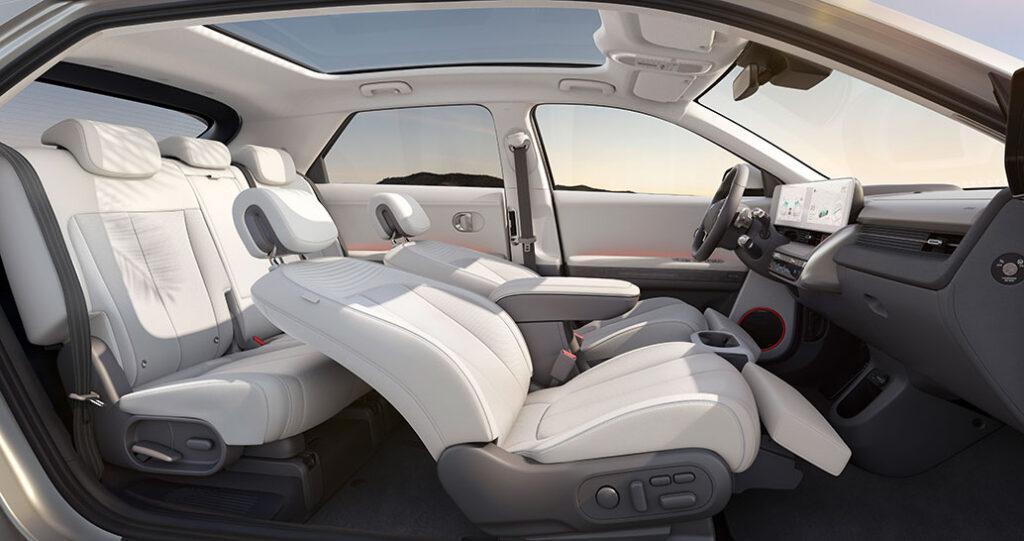 hyundai ioniq 5 interior seats