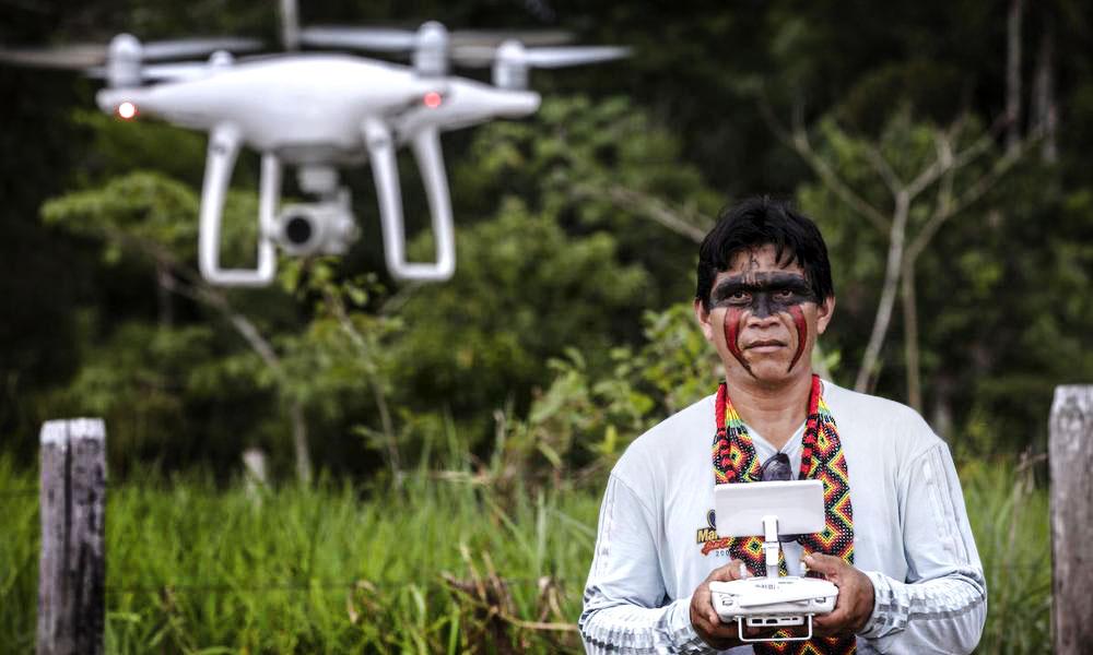 Volta amazon drone Marizilda Cruppe WWF