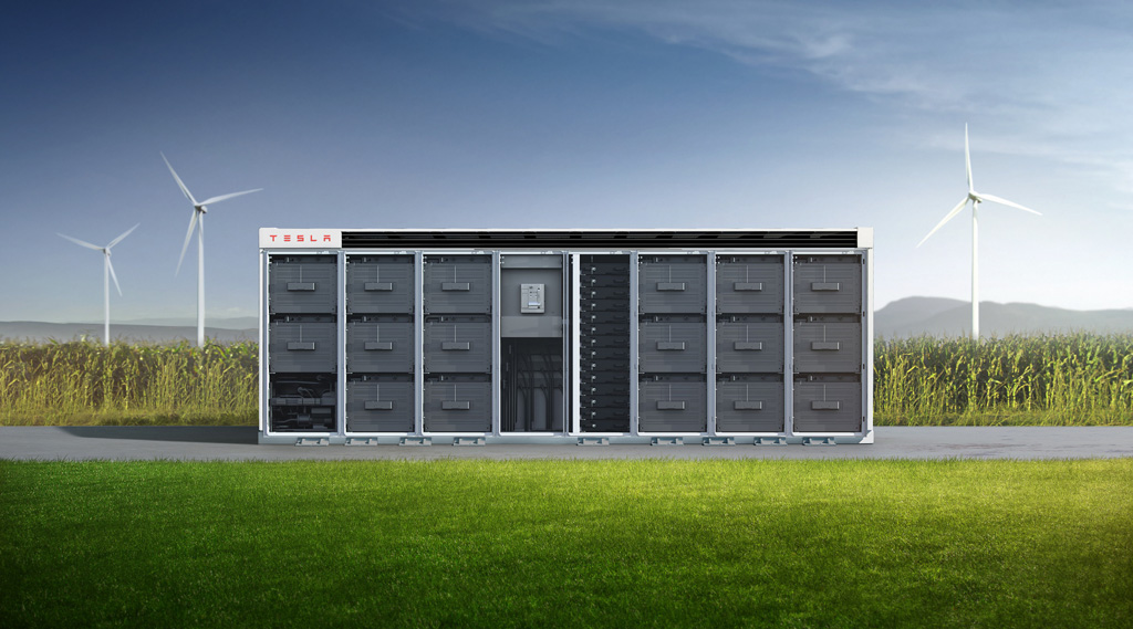 The Tesla Megapack is a large-scale lithium-ion battery storage product, used to store energy generated by renewable power sources, such as solar and wind.